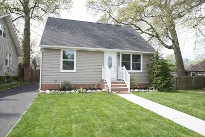 Ocean Twp Single Family Home Under Contract: 1702 Sunset Avenue