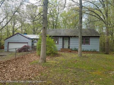 Jackson Single Family Home Under Contract: 1192 Toms River Road