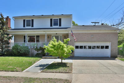 Belmar Single Family Home For Sale: 302 C Street