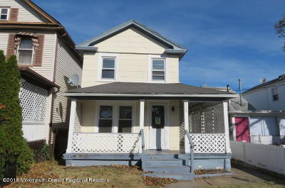 Bradley Beach Single Family Home Under Contract: 508 1/2 McCabe Avenue