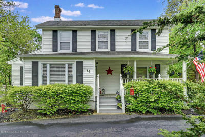 Jackson Single Family Home For Sale: 84 Valley Road