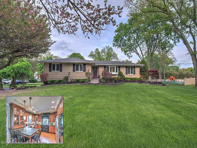 Freehold Single Family Home For Sale: 70 Randolph Road