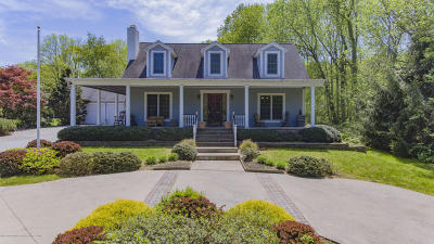 Colts Neck Single Family Home For Sale: 19 Clover Hill Lane