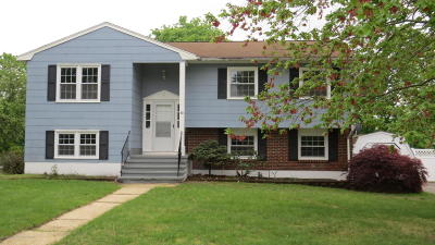 Neptune City, Neptune Township Single Family Home For Sale: 40 Country Club Drive
