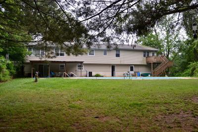 Howell Single Family Home For Sale: 59 Sunnyside Road