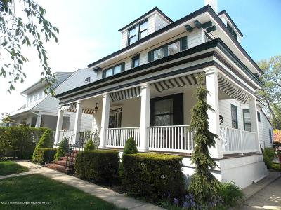 Asbury Park Single Family Home For Sale: 705 Sunset Avenue