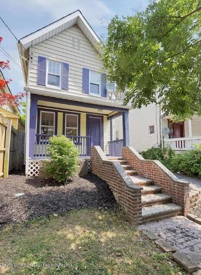 Asbury Park Single Family Home For Sale: 927 Summerfield Avenue