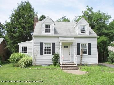 Freehold Single Family Home For Sale: 168 Waterworks Road