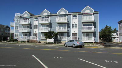 Bradley Beach Condo/Townhouse Under Contract: 1201 Ocean Avenue #1E