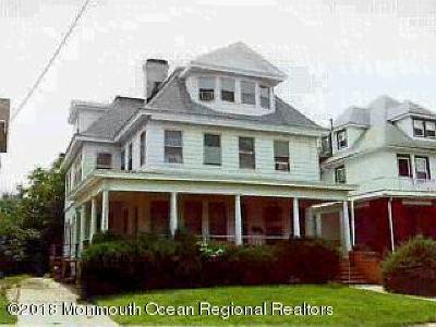 Asbury Park Multi Family Home Under Contract: 314 8th Avenue
