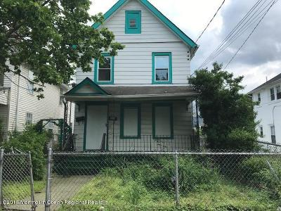 Asbury Park Single Family Home For Sale: 1130 Monroe Avenue