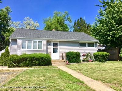 Eatontown Single Family Home Under Contract: 5 Kremer Avenue