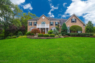 Freehold Single Family Home For Sale: 93 Tricentennial Drive