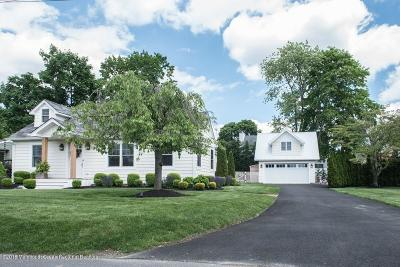 Wall Single Family Home Under Contract: 1412 Bay Plz