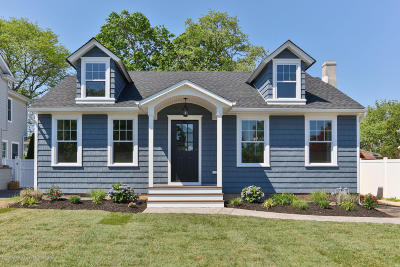 Spring Lake Single Family Home Under Contract: 804 Jersey Avenue