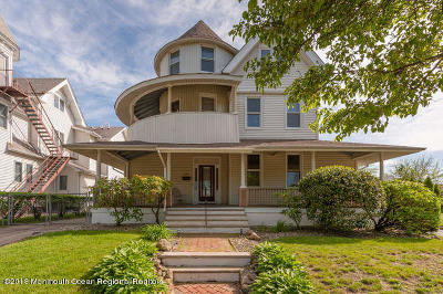Belmar Single Family Home For Sale: 211 2nd Avenue