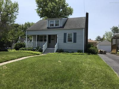 Neptune City NJ Single Family Home Under Contract: $289,900