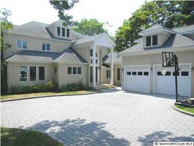 Brielle Single Family Home For Sale: 1112 Shore Drive