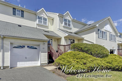 Neptune City, Neptune Township Condo/Townhouse Under Contract: 439 Lexington Avenue