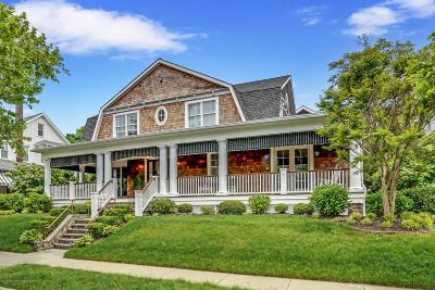Avon-by-the-sea, Belmar Single Family Home For Sale: 314 Lincoln Avenue