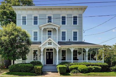 Spring Lake Single Family Home For Sale: 417 Ocean Road