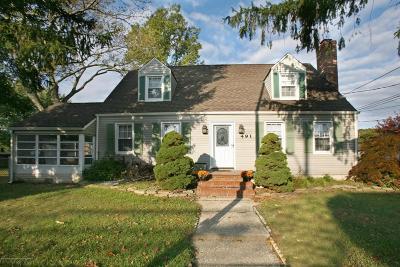 Hazlet Single Family Home For Sale: 491 Palmer Avenue