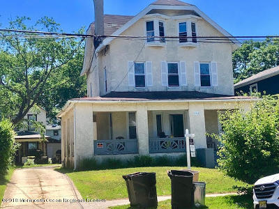 Asbury Park Multi Family Home For Sale: 408 4th Avenue