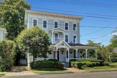 Spring Lake Single Family Home For Sale: 417 - 419 Ocean Road