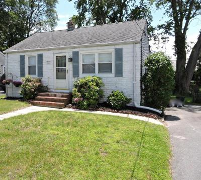 Neptune City NJ Single Family Home Under Contract: $185,000