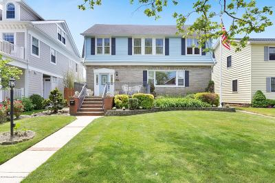Avon-by-the-sea, Belmar Single Family Home For Sale: 229 Sylvania Avenue