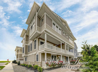 Bradley Beach Condo/Townhouse Under Contract: 811 Ocean Avenue #4