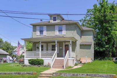 Long Branch, Monmouth Beach, Oceanport Single Family Home For Sale: 63 Morrell Street