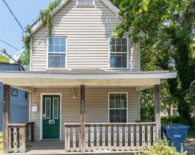 Neptune Township Single Family Home Under Contract: 1205 Heck Avenue
