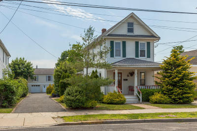 Bradley Beach Single Family Home For Sale: 513 McCabe Avenue