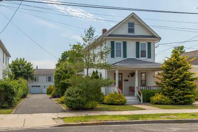 Bradley Beach Single Family Home Under Contract: 513 McCabe Avenue