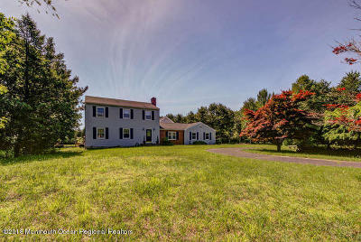 Howell Single Family Home For Sale: 891 Fort Plains Road