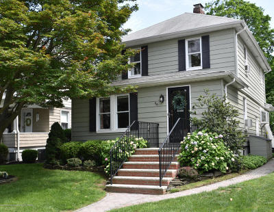 Red Bank Single Family Home For Sale: 66 Elm Place