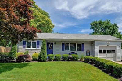 Hazlet Single Family Home Under Contract: 107 Hazlet Avenue