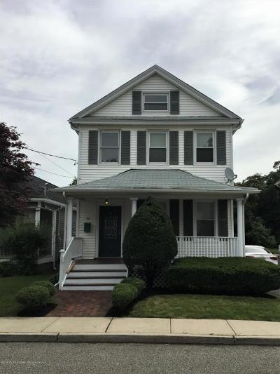 Red Bank Single Family Home For Sale: 19 Mount Street