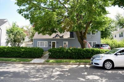 Long Branch Single Family Home For Sale: 290 Lockwood Avenue