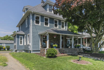 Long Branch Single Family Home For Sale: 44 Slocum Place