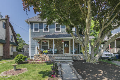 Long Branch Multi Family Home For Sale: 44 Slocum Place