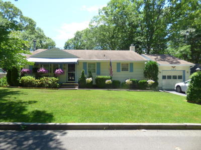 Neptune Township NJ Single Family Home Under Contract: $319,500
