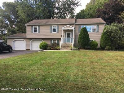 Freehold Single Family Home Under Contract: 30 Hall Road