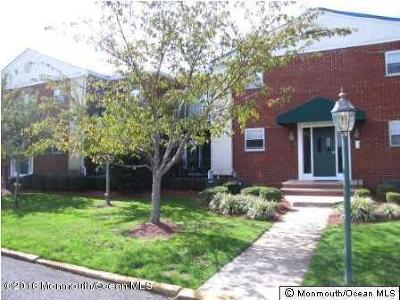 Long Branch Condo/Townhouse For Sale: 65 Cedar Avenue #C13