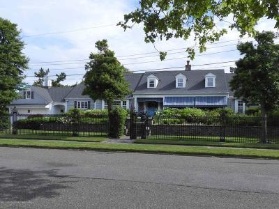 Spring Lake Single Family Home For Sale: 106 Morris Avenue