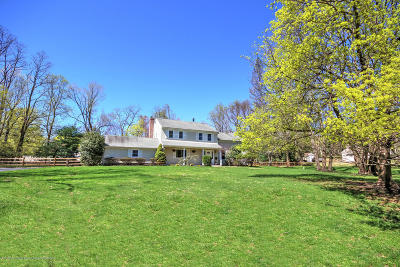 Colts Neck Single Family Home For Sale: 40 Maple Drive