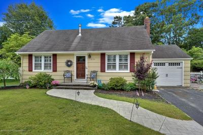 Point Pleasant Single Family Home For Sale: 2131 Christopher Road