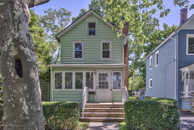 Freehold Single Family Home Under Contract: 40 Union Avenue