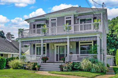 Avon-by-the-sea, Belmar, Bradley Beach, Brielle, Manasquan, Spring Lake, Spring Lake Heights Single Family Home For Sale: 348 South Boulevard